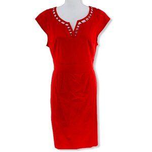 Anne Klein Women's Red Dress PLUS 16
